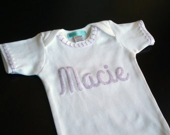 Baby Shower, Baby Gift, Baby Shower Gift, Baby Girl Clothes, Personalized Baby, Personalized Gift, Coming Home Outfit, Baby Girl Gift
