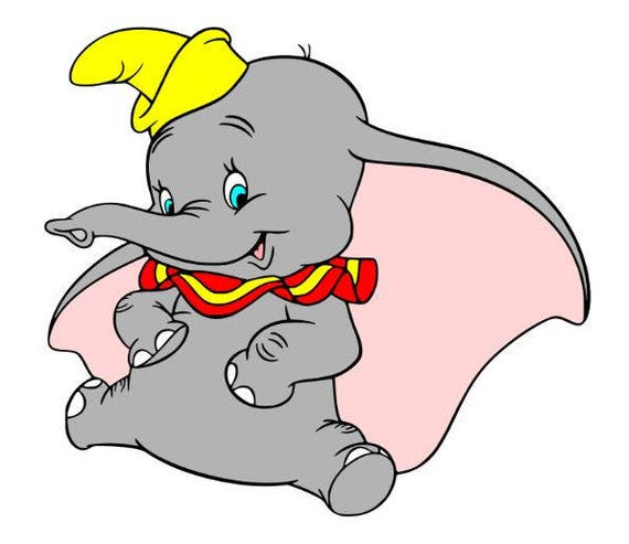 dumbo svg file svg cutting file disney svg file svg for rh etsy com dumbo clipart dumbo clipart