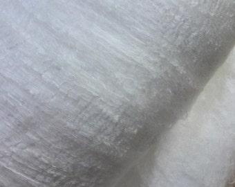 NEW Silk Filament Sheet, Filament Silk Laps, Silk Laps, Feltmaking, Spinning, Needlefelting, Silk Fusion, Dyeing