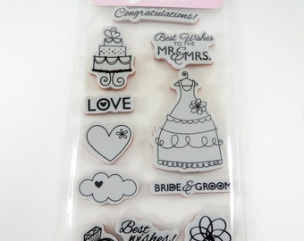 Wedding ring stamp Etsy
