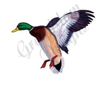 Mallard Duck - Machine Embroidery Design