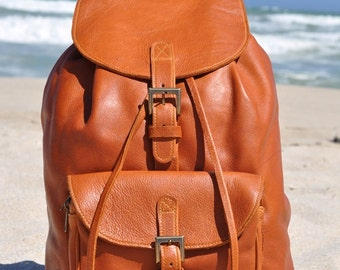 Wanderlust backpack genuine leather and world map atlas tan genuine leather backpack gumiabroncs Image collections