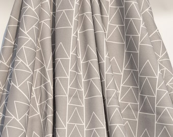 Organic Swaddle Blanket Grey Triangle Stack - Swaddle Blanket - Organic Knit - Baby Blanket - Newborn Blanket -Grey Swaddle-Hospital Blanket