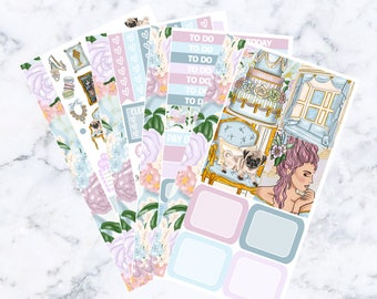Marie Antoinette: December Sub Mini Sticker Kit