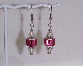 Swarovski Crystal Bridal Earrings - MADE TO ORDER - Several Colors Available