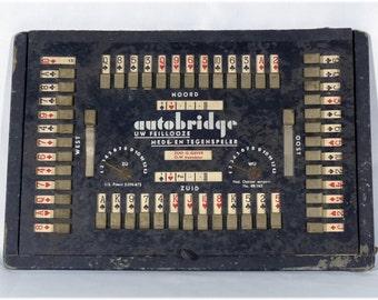 Dutch Vintage Autobridge game by Querido