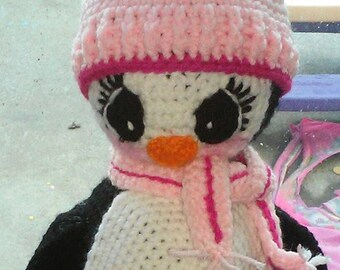 Crochet Amigurumi Penguin Pattern Only