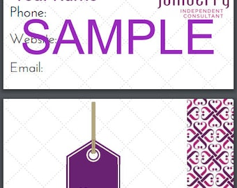 Jamberry Business/ sample card PRINTABLE