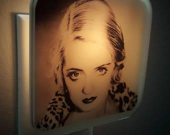Bette Davis Night Light