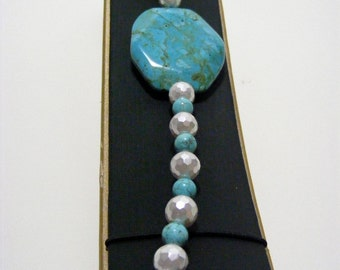 Turquoise Green Magnesite Bracelet