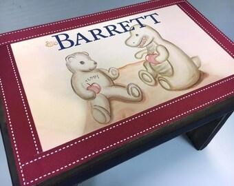 Children's Bench- Little Bear