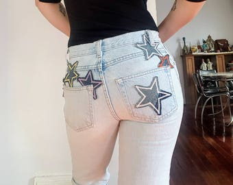 One of a Kind Star Jeans