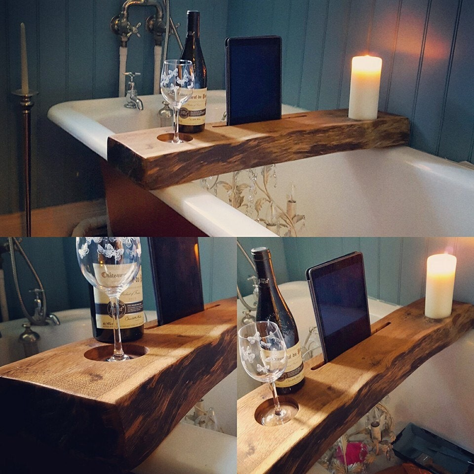 Free delivery UK only. Luxery Solid Wood chillout Bath trays