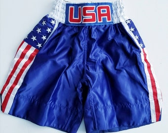 Youth USA boxing trunks