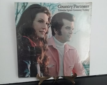 NEW! Sealed! - Loretta Lynn & Conway Twitty - Country Partners - Circa 1974