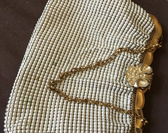 Vintage Whiting and Davis Mesh Purse Bag