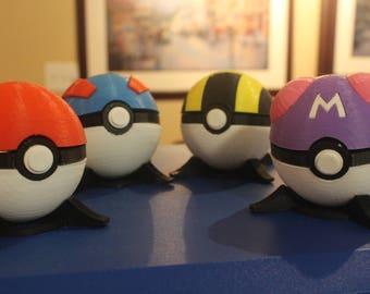 3D Printed Functional Pokeballs!