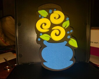 """Anita's Chunky Stamps """"Flower N Vase"""", Chunky Foam Stamps"""