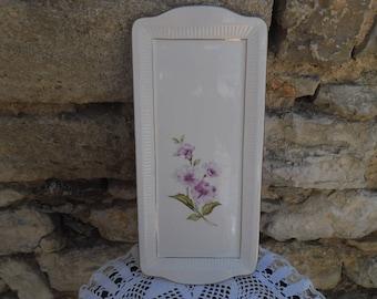 Old Chevreuse 1950's France Gien porcelain serving dish
