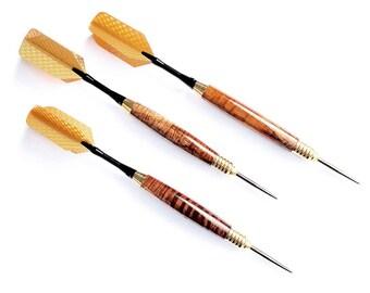 Hawaiian Koa Wood Dart Set