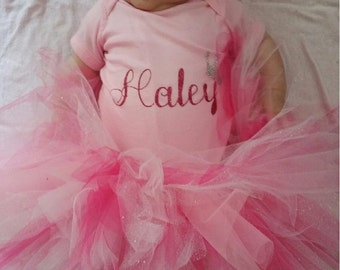 Infant/child tutu and onesie