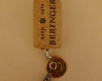 Wander Cork Key Chain