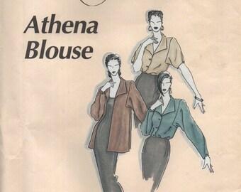 La Fred ATHENA BLOUSE #100 par Fred Bloebaum Multi-Sized non brillant patron de couture