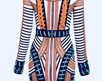 Tribal Bodycon Dress