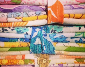 Vintage Retro Sheet Fat Quarter (FQ) Pack