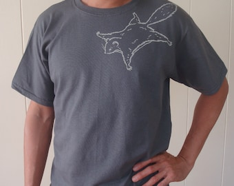 Flying Squirrel T shirts for Men