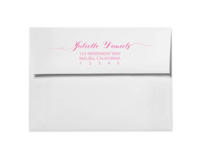 Printed Return Address // Made to Match our MONTREAL collection