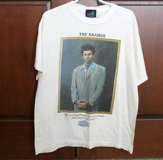 1993 The Kramer Seinfeld T Shirt Size Large | Vintage TV Show Clothing