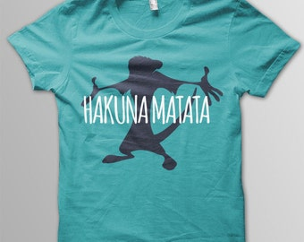 Disney shirt adult Hakuna Matata shirt adult Disney t-shirt