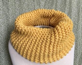 GEMINI Cowl / 100% Wool / Zodiac Knitwear