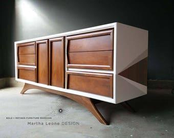 SAMPLE Mid Century Dresser