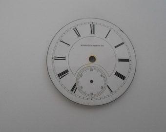 Hampden Pocket Watch Porcelain Dial For size 20 movement(27)