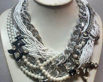 Handmade jewelry - glam necklace