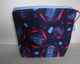Dr Who - Zipper Project Bag