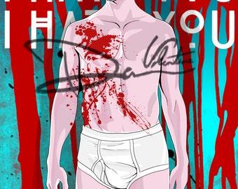 Dandy Mott American Horror Story Poster (Print) 11x17in Freakshow, Hotel