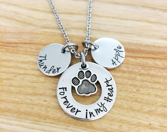Pet memorial jewelry etsy aloadofball Images