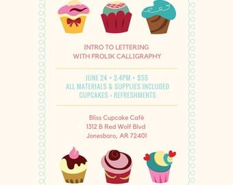 Intro to Lettering Workshop- Jonesboro, AR