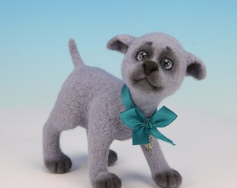 Benjie. One-of-a-kind Needle Felted Sculpture.