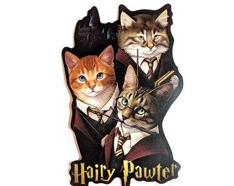 Hairy Pawter Sticker