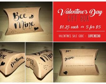 Valentines Gift Box 'Bee Mine'