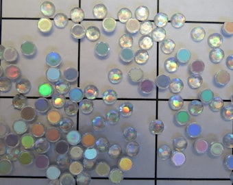 20ss Crystal AB 1 Gross Superior Acrylic Rhinestones (J-103)
