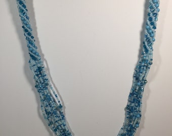 Turquoise Beaded Harmony Necklace