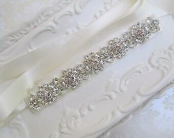 wedding belt, Wedding sash, sash, Crystal Bridal belt, crystal sash, Wedding dress sash, wedding dress belt, rhinestone belt, bridal belt