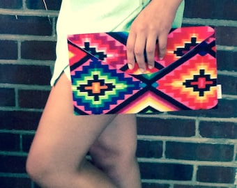 Navajo Clutch Bag, Southwestern Bag,