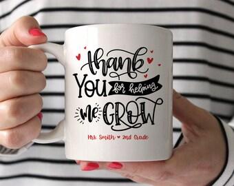 Preschool Teacher Gifts Daycare Teacher Gifts Teacher Appreciation Gift Custom Gifts for Teachers Personalized Gifts for Teacher Coffee Mug