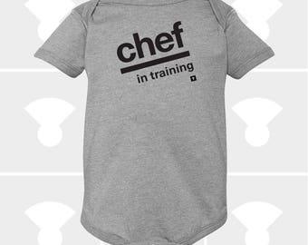 Chef In Training - Baby Onesie